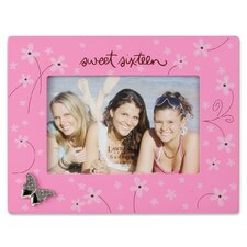 Sweet Sixteen Picture Frame