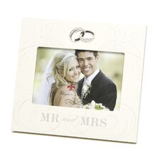 <strong>Lawrence Frames</strong> Mr. And Mrs. Wedding Picture Frame
