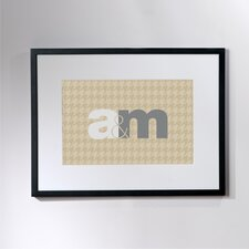 Personalized Unity Framed Textual Art