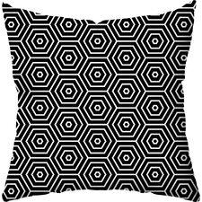 Hex Indoor/Outdoor Throw Pillow