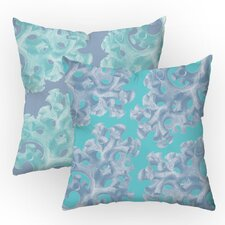 Coral Reverie Throw Pillow Set (Set of 2)