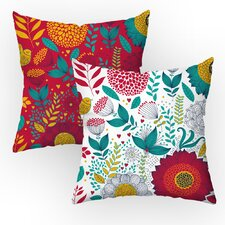 Garden Party Throw Pillow Set (Set of 2)