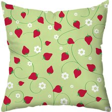 Berry Dots Throw Pillow