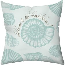 Welcome to the Beach House! Throw Pillow