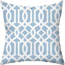 Lattice Indoor/Outdoor Throw Pillow