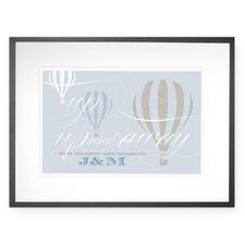 Personalized Up, Up and Away Wall Décor