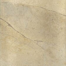 "Select 18"" x 18"" Porcelain Tile with Interlocking Tray in Shale"