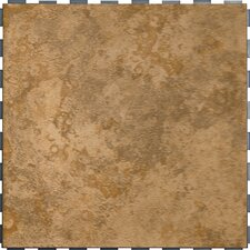 "Select 18"" x 18"" Porcelain Tile with Interlocking Tray in Stone"