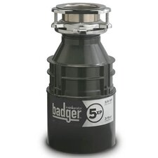 Badger Series 3/4 HP Garbage Disposal with Continuous Feed