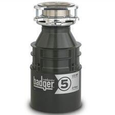 <strong>InSinkErator</strong> Badger Series 1/2 HP Garbage Disposal with Continuous Feed