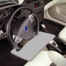 Automobile Steering Wheel Attachable Work Surface