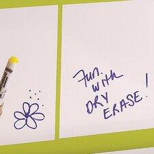 Dry Erase Squares Peel and Stick Decals