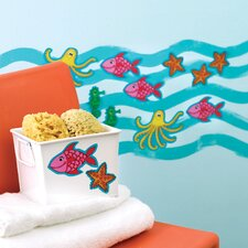 <strong>Wallies</strong> KP Kids Sea Creatures Wallpaper Cutouts