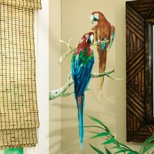 <strong>Wallies</strong> Parrots Wallpaper Mural