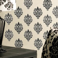 Beautiful Baroque Vinyl Wall Decals in Black