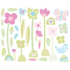 Baby Daisy Peel and Stick Wall Stickers