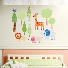 <strong>Wallies</strong> Zoo Baby Wall Sticker