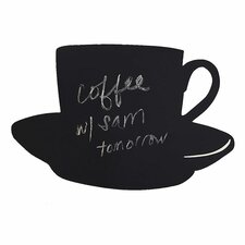 <strong>Wallies</strong> Cup and Saucer Chalkboard Murral