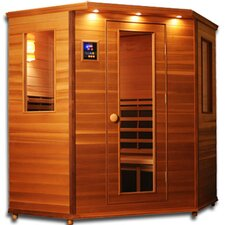 Premier 3 - 4 Person Carbon and Ceramic FAR Infrared Sauna
