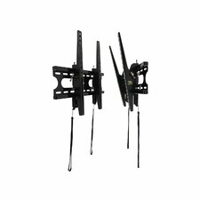 "Low-Profile Medium Tilt Universal Wall Mount for 23"" - 42"" LCD/LED/Plasma"