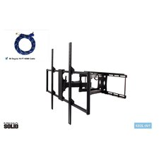 "Large Low-Profile Full Motion Articulating Universal Wall Mount for 37"" - 65"" LED / LCD / Plasma"