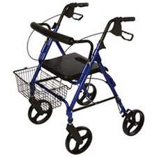 Deluxe Rollator with Removable Wheel