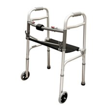 2 Button Walker with Roll-Up Seat