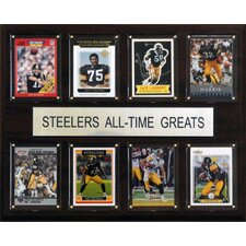 <strong>C & I Collectibles</strong> NFL All-Time Greats Plaque