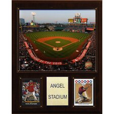 "MLB 12"" x 15"" Stadium Plaque"