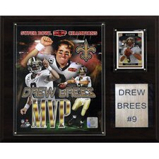 NFL New Orleans Saints Super Bowl MVP Plaque
