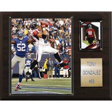 NFL Player Plaque