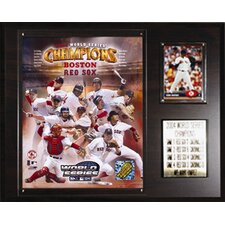 MLB Red Sox 2004 World Series Champions Plaque