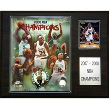 NBA Boston Celtics 2007-08 Champions Plaque