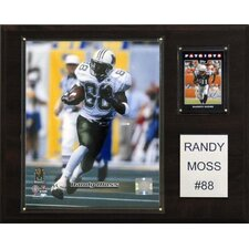 NCAA Football Player Plaque