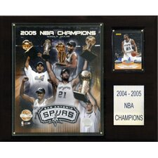 NBA Spurs 2004-05 Limited Edition NBA Champions Plaque