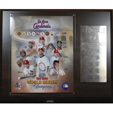 MLB St. Louis Cardinals Champions Plaque
