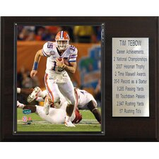 NCAA Football Career Stat Plaque