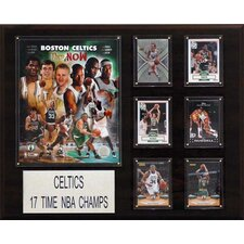 <strong>C & I Collectibles</strong> NBA Boston Celtics Championship Champions Plaque