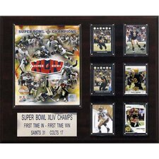 "<strong>C & I Collectibles</strong> NFL 16"" x 20"" Champions Plaque"