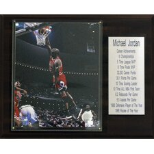 NBA Chicago Bulls Stat Plaque
