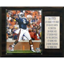 <strong>C & I Collectibles</strong> NCAA Football Career Stat Plaque
