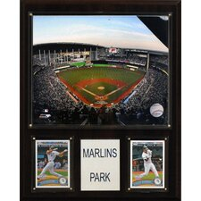 MLB Marlins Park Stadium Plaque