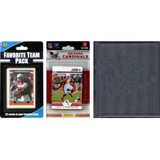 NFL Licensed 2012 Score Team Set and Favorite Player Trading Card Pack Plus Storage Album