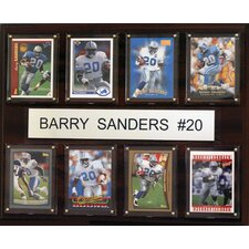NFL 8 Card Framed Memorabilia Plaque