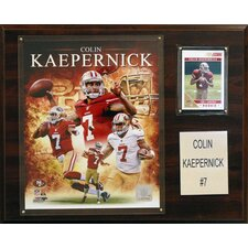 NFL Player Framed Memorabilia Plaque