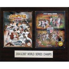 MLB Champions Framed Memorabilia Plaque