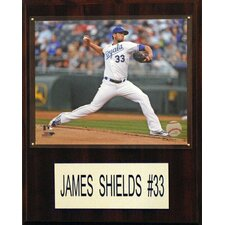 MLB Player Plaque