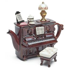 Piano Tea Dance Teapot