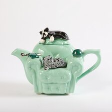 One Cup Cat's Chair Teapot