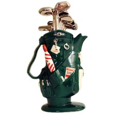 Golf Bag Tea Pot